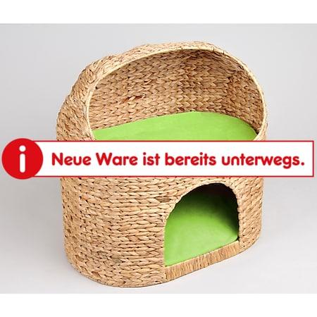 "Katzenhöhle ""Marvin"", Kissen in grün - Bild 1"