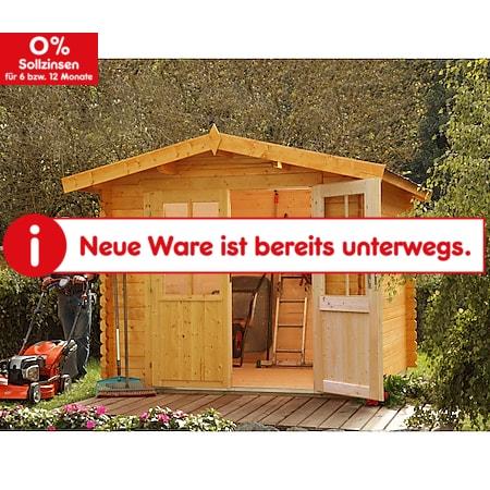 Wolff Finnhaus Gartenhaus Bibertal 28-XS - inkl. Boden - Bild 1