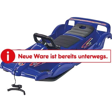 AlpenGaudi DoubleRace Schlitten   versch. Farben   blau - Bild 1
