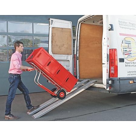 BRB 68150 Auffahrrampen-Set, Tragkraft je 200 kg - Bild 1