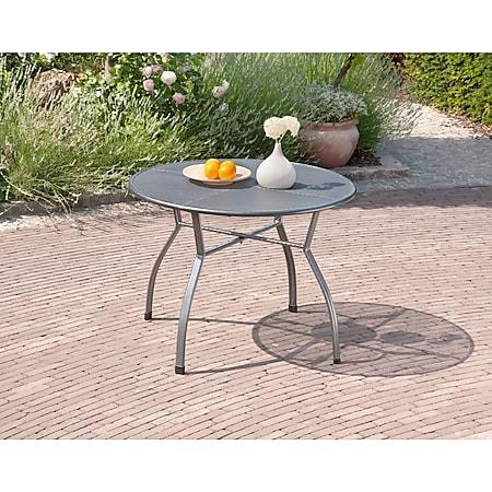 Greemotion Gartentisch Toulouse, rund - groß - Bild 1