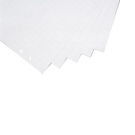 magnetoplan Flipchart-Papier Block a 20 Bl., 70g - gerollt - Bild 1