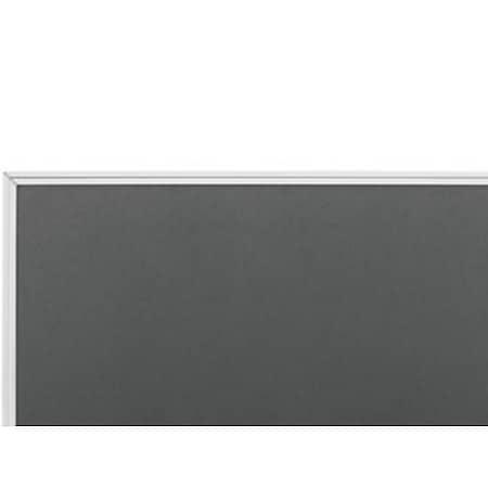 magnetoplan Textilboards Typ SP 1200 x 900 mm - grau - Bild 1