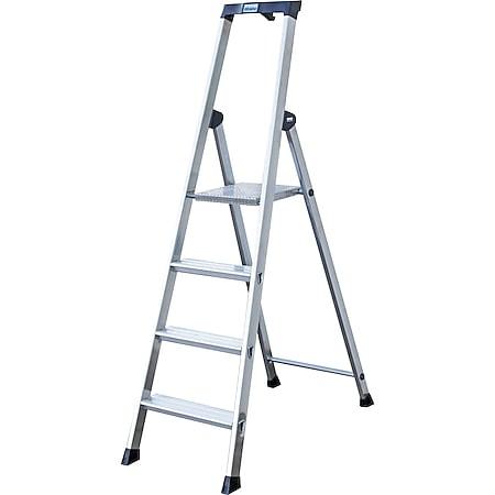 """Krause """"Solido"""" Stufen-Stehleiter, 4 Stufen - Bild 1"""