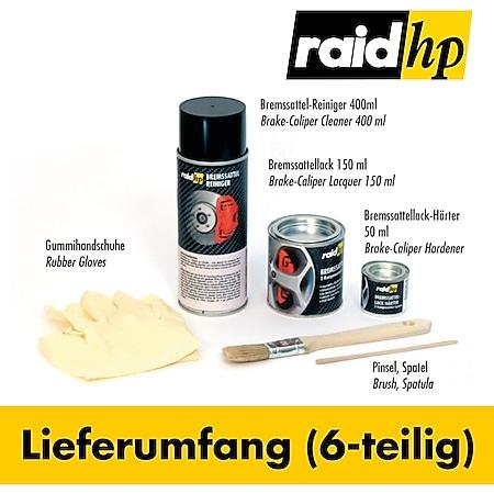 raid hp Bremssattellack (6-teilig) pink - Bild 1