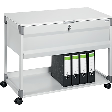 Durable Hängemappenwagen SYSTEM FILE TROLLEY 100 MULTI TOP - grau - Bild 1