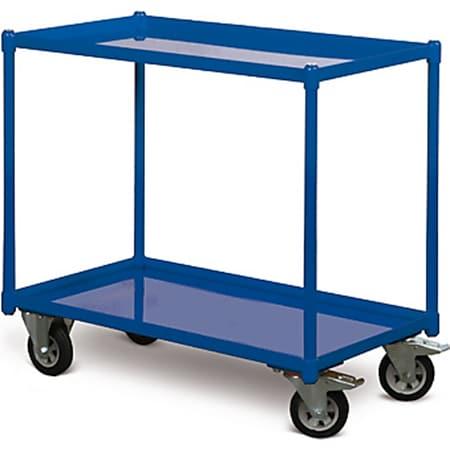 Protaurus TAUROFLEX Tischwagen 250 kg mit 2 Ladeflächen und dichten Stahlwannen, 84 x 45 cm - Bild 1
