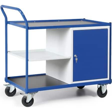 Protaurus TAUROFLEX Werkstattwagen 250 kg mit 1 Schrank und zusätzlicher Ablage - Bild 1