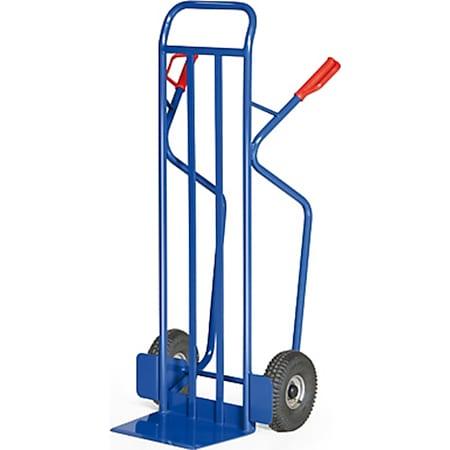 Protaurus Stahlrohr-Stapelkarre für Lasten bis 350 kg - Luftbereifung - Bild 1