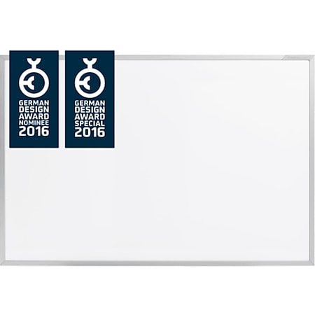 magnetoplan ferroscript doppelseitige Schreibtafel - 1800 x 1200 mm - Bild 1