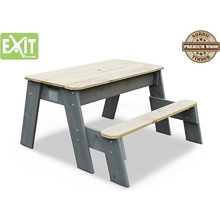 EXIT Aksent Sand,- Wasser- und Picknicktisch (1 Bank) - Bild 1