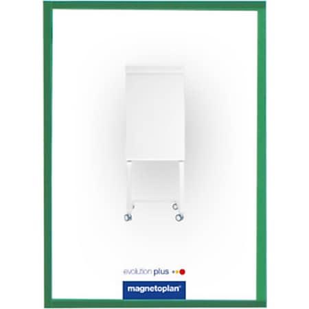 magnetoplan magnetofix-Sichtfenster A4 - 5er Pack grün - Bild 1