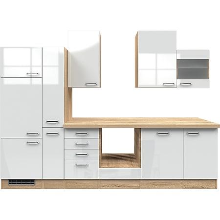 Flex-Well Küchenzeile ohne E-Geräte 310 cm L-310-2603-014 Valero - Bild 1