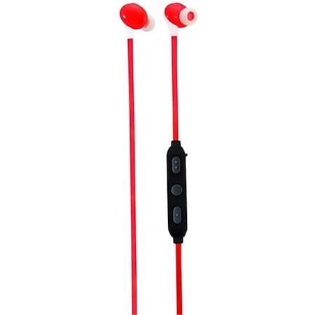 Caliber MAC060BT/R kabelloser Bluetooth In-Ear Kopfhörer - rot - Bild 1