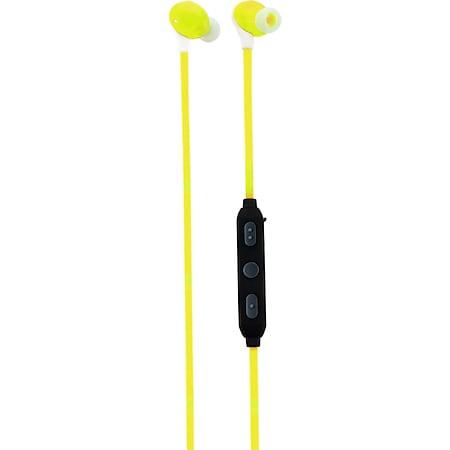 Caliber MAC060BT/R kabelloser Bluetooth In-Ear Kopfhörer - gelb - Bild 1