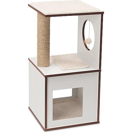Vesper Katzenmöbel V-box small weiß - Bild 1