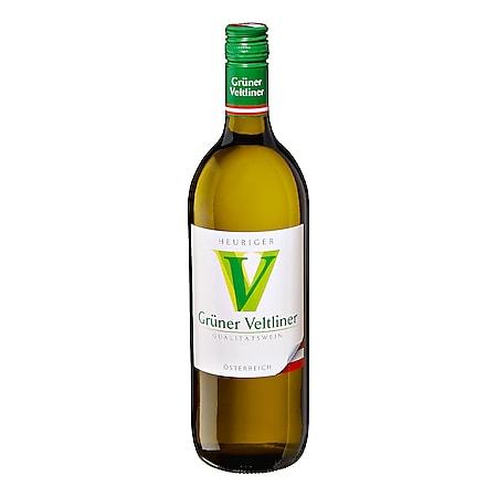 Heuriger Grüner Veltliner Qualitätswein 11,0 % vol 1 Liter - Bild 1