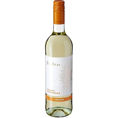 Grauer Burgunder Qualitätswein Baden trocken 12,0 % vol 0,75 Liter - Bild 1