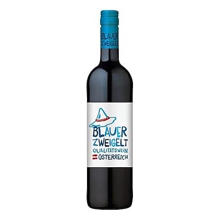 Blauer Zweigelt Qualitätswein 12,0 % vol 0,75 Liter - Bild 1
