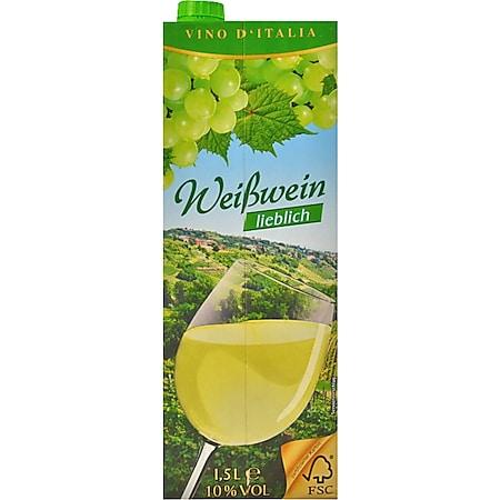Italienischer Weißwein 9,5 % vol 1,5 Liter - Bild 1