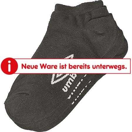 Umbro Sneaker Socken, 3er Schwarz, 43-46 - Bild 1