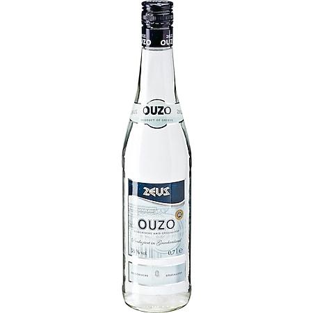 Zeus Ouzo 37,5 % vol 0,7 Liter - Bild 1