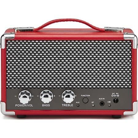 GPO Komfort Retro-Bluetooth Lautsprecher - rot - Bild 1