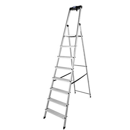 Krause Safety Alu-Leiter, 8 Stufen - Bild 1