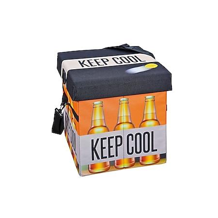 Inter Link Kühltasche - Faltkiste Fanbox II Bier - Bild 1