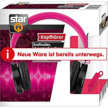 StarQ Kopfhörer pink - Bild 1