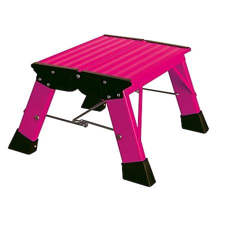 Krause Treppy Plusline, Doppel-Klapptritt, pink - Bild 1