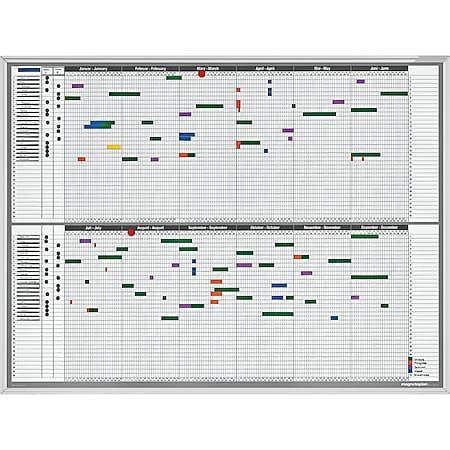 Magnetoplan Personal- und Projektplaner - Bild 1