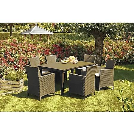 BEST 13-tlg. Dining-Sessel + Tisch   versch. Farben und Ausführungen - Bild 1