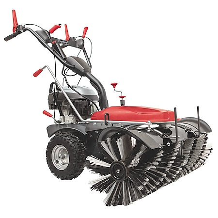 Scheppach SC2200PE Kehrmaschine mit Sammelbehälter & Schneeschild - Bild 1