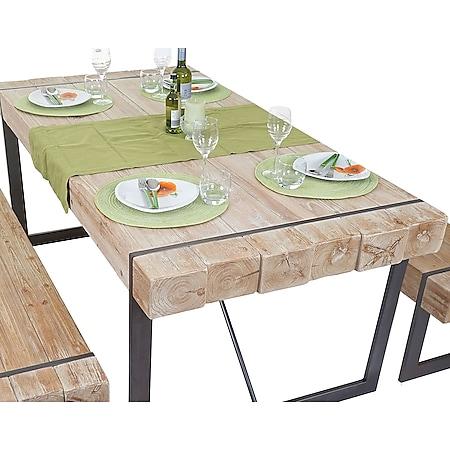 Esszimmertisch MCW-A15, Esstisch Tisch, Tanne Holz massiv rustikal ~ 80x160x90cm - Bild 1