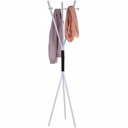 Garderobenständer Salinas, Standgarderobe Kleiderständer 175,5x40x40cm - Bild 1