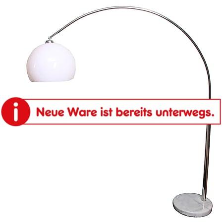 Reality Trio Bogenlampe Benevent Höhe: 2,06m Schirm: 40cm ~ weiß - Bild 1