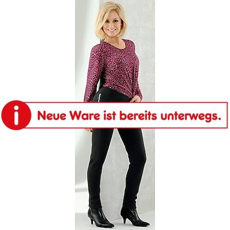 Damen Stretchhose - Schwarz, Gr. L - Bild 1