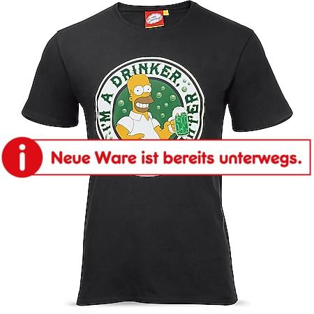 Simpsons T-shirt - schwarz, Gr. M - Bild 1