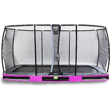 EXIT Elegant Ground Premium 244x427 (8x14ft) + Sicherheitsnetz Deluxe RECHTECKIG lila - Bild 1