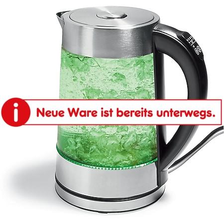 starQ Glaswasserkocher, ca. 1,7 Liter - Bild 1