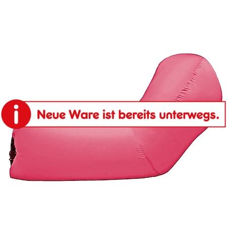 Bürkle Air Lounger mit Kopfteil - pink - Bild 1