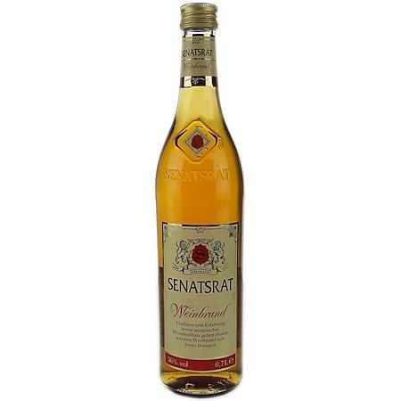 Senatsrat Weinbrand 36,0 % vol 0,7 Liter - Bild 1