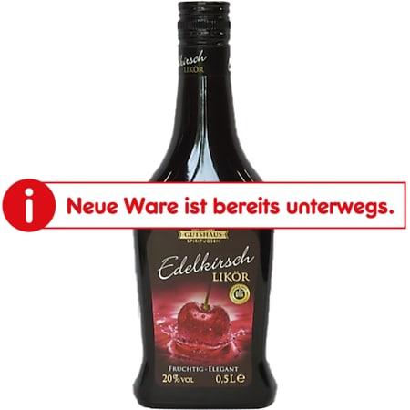 Gutshaus Kirschlikör 20,0 % vol 0,5 Liter - Bild 1