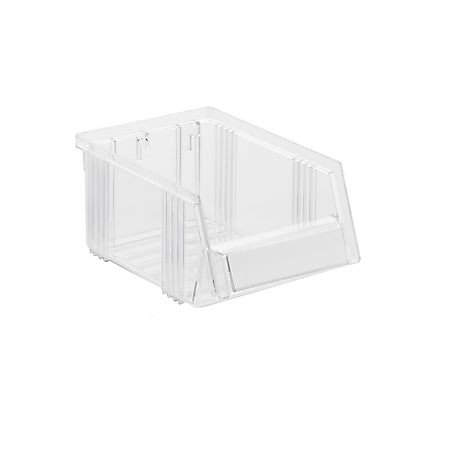 Treston 1015-1 Sichtlagerkasten 10,5 x 16,5 x 7,5 cm, glasklar - 60 Stk - Bild 1