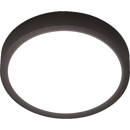 Nino Leuchten LED Deckenleuchte PUCCY, schwarz, rund, Durchmesser: 23 cm - Bild 1