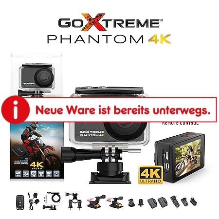 GoXtreme Phantom 4K Real 4K Ultra HD Action Cam - Bild 1