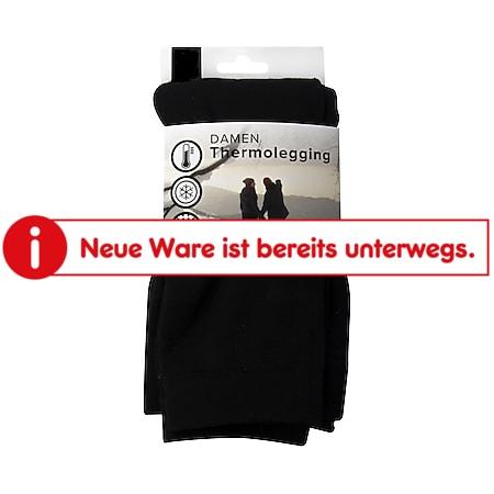 Damen Thermolegging - schwarz, Gr. S/M (36/40) - Bild 1
