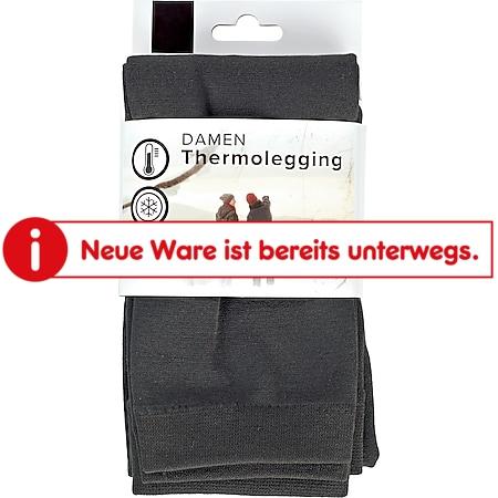 Damen Thermolegging - anthrazit, Gr. S/M (36/40) - Bild 1