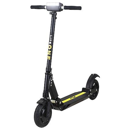 eFlux Lite One 500 Watt E-Scooter Elektroroller schwarz/gelb - Bild 1